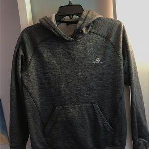 Adidas climawarm gray sweatshirt